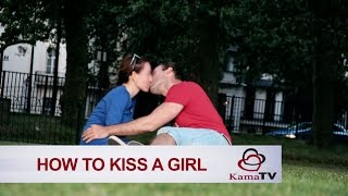 How to kiss a girl you just met? Infield footage
