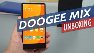 Doogee Mix Unboxing & Hands-On Review. Budget Bezel-Less Mobile