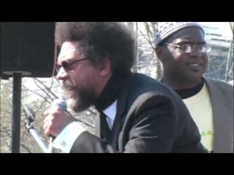 Cornel West at Immigration Reform March in Washington, D.C.
