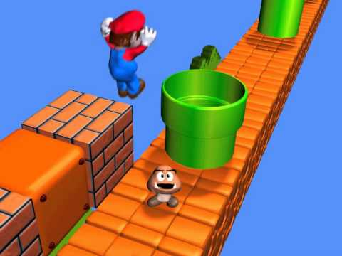 Super Mario Goomba's BIG dream