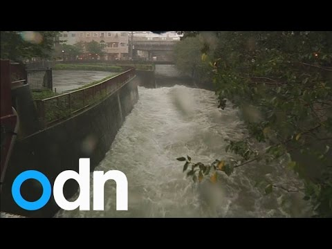 WATCH: Deadly Typhoon Phanfone hits Japan
