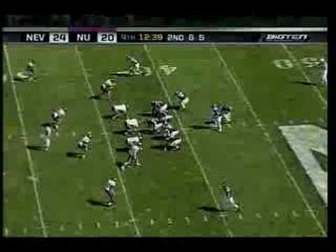 Northwestern Wildcats vs. Nevada Wolf Pack - 09/08/07 Video