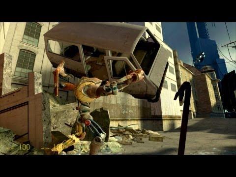 Эпичный забег Пса в Half-Life 2 (Все детали)