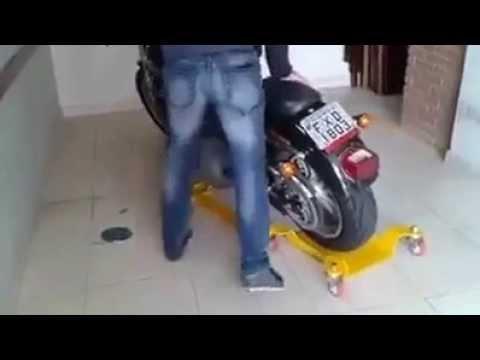 便利なバイクの駐車ツールがクール過ぎ♪
