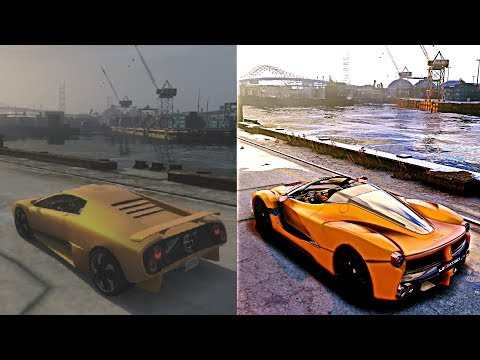 ► GTA 5 vs GTA 6 2018 REAL-LIFE GRAPHICS MOD [XBOX 360 vs PC]
