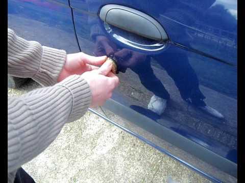 Lock Picking/Jiggling open Car Door.