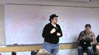 Brandon Sanderson Lecture 2: What makes a good plot (1/5)