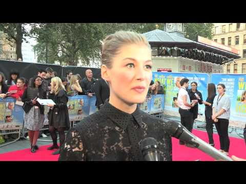 Rosamund Pike - What We Did On Our Holiday - UK Premiere Interview