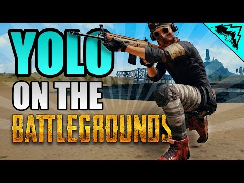 LEGENDARY RED SHOES YOLO on the Battlegrounds #5 PUBG StoneMountain64 Gameplay Serious Soldier