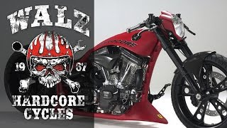 "Harley-Davidson Screamin Eagle ""S & S"" by Walz Hardcore Cycles 
