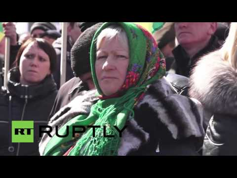Ukraine: Farmers protest against newly approved VAT regime in Kiev