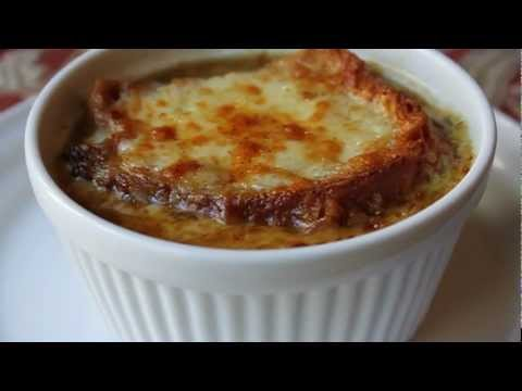 American French Onion Soup Recipe - How to Make Onion Soup