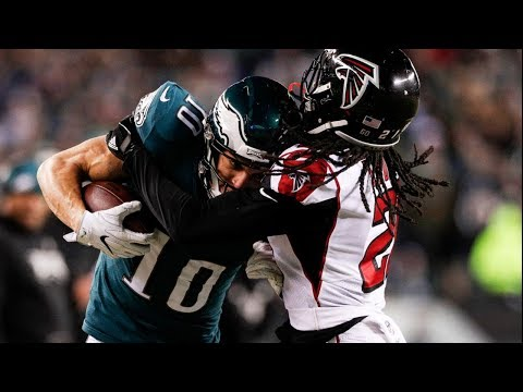 Falcons vs. Eagles 2018 NFC Divisional Game Highlights   NFL