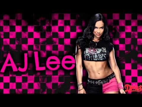 WWE: AJ Lee - Lets Light It Up (feat. Kari Kimmel)
