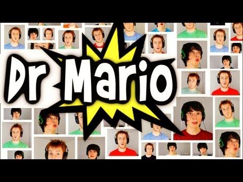 El tema musical de Dr. Mario interpretado a capela