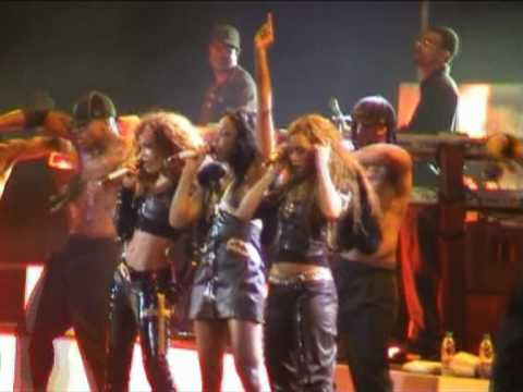 Destiny's Child - Soldier (Destiny Fulfilled World Tour 2005 - Barcelona, Spain)