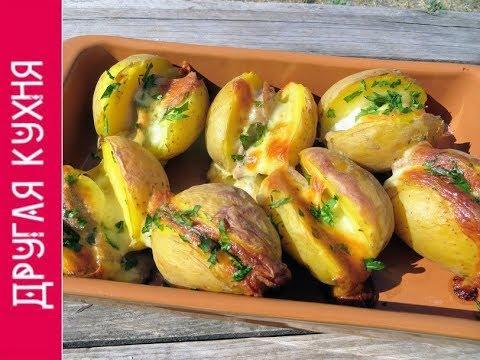 Проще пареной репы - ленивый ужин! Картошка с колбаской и сыром в духовке