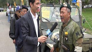 Chơi Xe Jeep Quân Sự Tại Little Sài Gòn - California -Mỹ