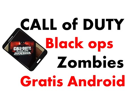 Descarga CALL of DUTY black ops ZOMBIES Gratis Android