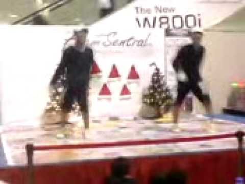 hasif mhfr and muhdhafizy comp at plaza alam sentral 2008 Video