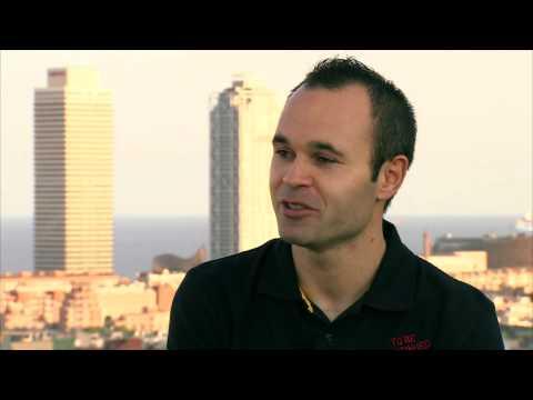 Entrevista a Andrés Iniesta, jugador del FC Barcelona