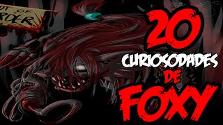 TOP 20 Curiosidades De FOXY │Five Nights At Freddy