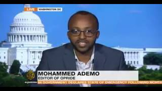 Aljazeera reports on the State of Emergency in Ethiopia