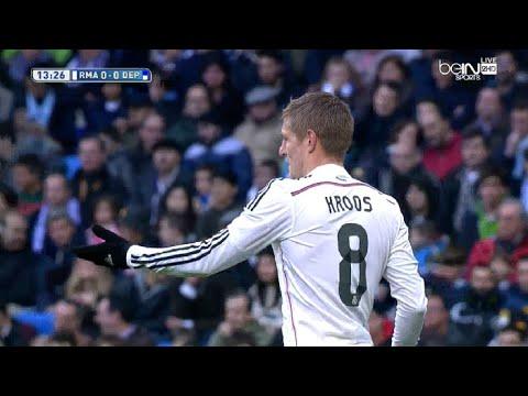 Toni Kroos vs Deportivo de La Coruña (H) 14-15 720p HD