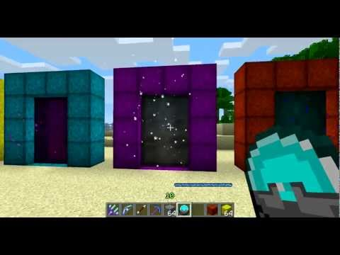 Minecraft Divine RPG Mod 1.4.7: How to Make Portals