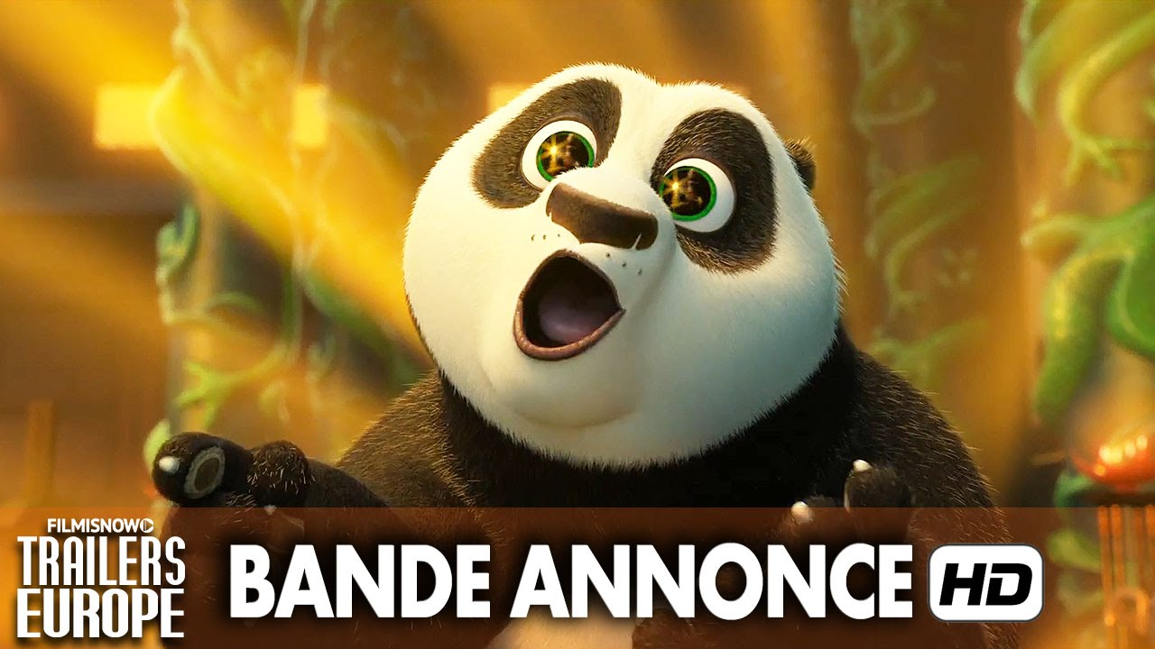 Nouvelle bande annonce VF - KUNG FU PANDA 3 [HD]