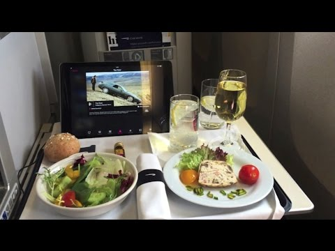 Business Class British Airways Dubai to London 777