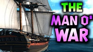 THE MAN O' WAR // SEA OF THIEVES - The new ship, that everyone wants! #SeaOfThieves