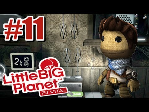 Little Big Planet PS Vita - Story Mode Part 11 Co-op w/SoulSilver79
