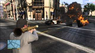 GTA 5 PLAY RPG 7 STUNT