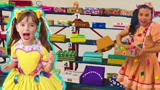 FESTA JUNINA NA ESCOLA, BRINCADEIRA DE SÃO JOÃO - PARTY AT SCHOOL, PLAY AND DANCE