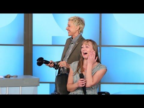 Ellen's Got a Curl Secret