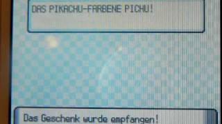 Pikachu-farbene Pichu Wi-Fi Download