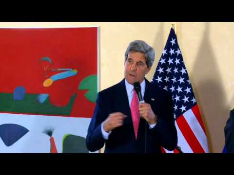 Secretary Kerry Delivers Remarks With European Commission President Barroso