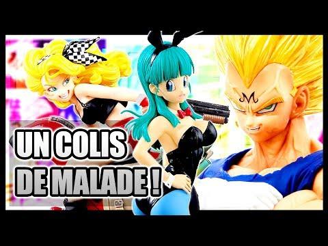 LES SORTIES DU MOMENT ! UNBOXING D'UN GROS COLIS DRAGON BALL, Z, SUPER, HEROES