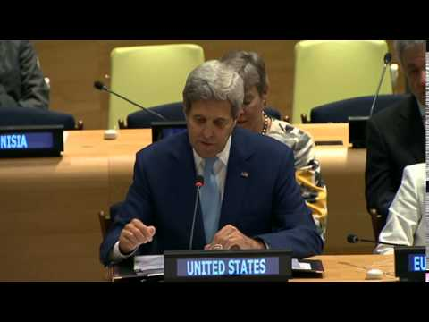 Secretary Kerry Delivers Remarks on the Comprehensive Nuclear Test-Ban Treaty Ministerial