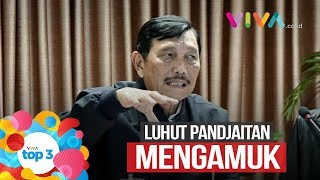 VIVA Top3: Luhut Ngamuk, Gempa Malang & Bobotoh Teriakkan Prabowo