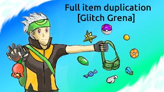 Item Duplication and TmHm/Berry Pouches Restauration [Pomeg Glitch]