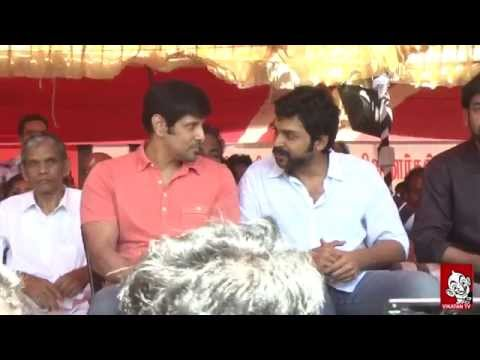 Jayalalitha Verdict | Tamil Film Industry Fasting | Surya | Vikram