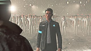 Detroit: Become Human - Connor Converts an Army of Androids