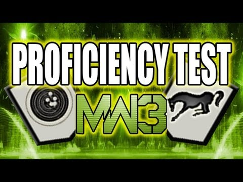MW3 Tips and Tricks - Stability vs. Kick Weapon Proficiency Test (Modern Warfare 3)
