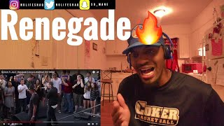 Too much fire! | Eminem ft. Jay Z - Renegade (Live on Letterman) | REACTION