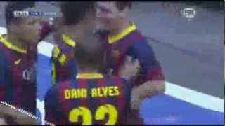 Barcelona VS Real Madrid 2013 2 1 Neymar Golleri ~ Gol 26 10 2013