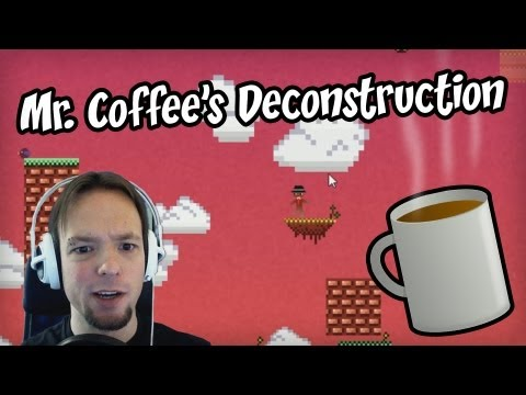 Mr. Coffee's Deconstruction Let's Play — COFFEE!!! — Gameplay & Commentary