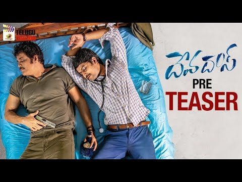 Devdas Movie PRE TEASER | Nagarjuna | Nani | Aswini Dutt | #Devdas | Mani Sharma | Telugu Cinema