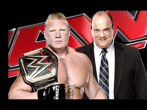 Paul Heyman and Brock Lesnar Arrives For WWE RAW 2/9/15 - Brock Lesnar's WWE Return